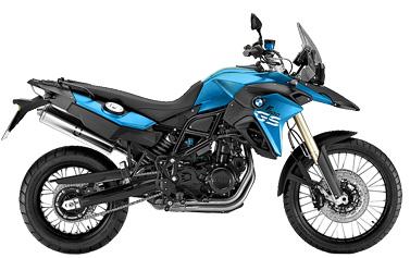 BMW F 800 GS moto de alquiler
