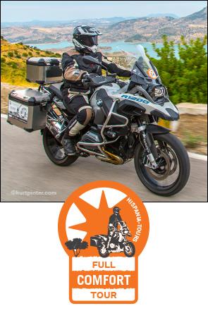 Viaje en moto en España