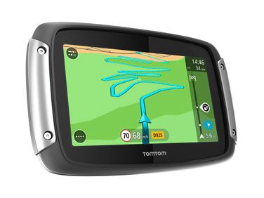 GPS TomTom Rider 400 en Hispania Tours